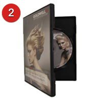 Slim 7mm and regular 14mm dvd blu-ray case